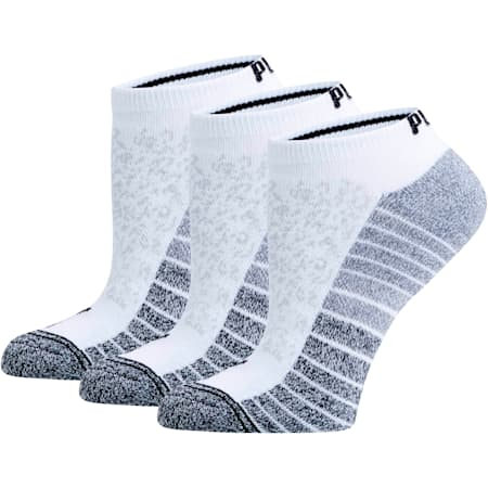 Women's Low Cut Socks [3 Pack], WHITE, small